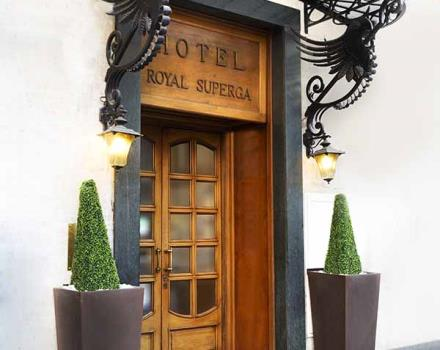 Ingresso Hotel Royal Superga Cuneo 3 stelle